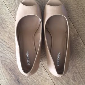 Merona nude wedge